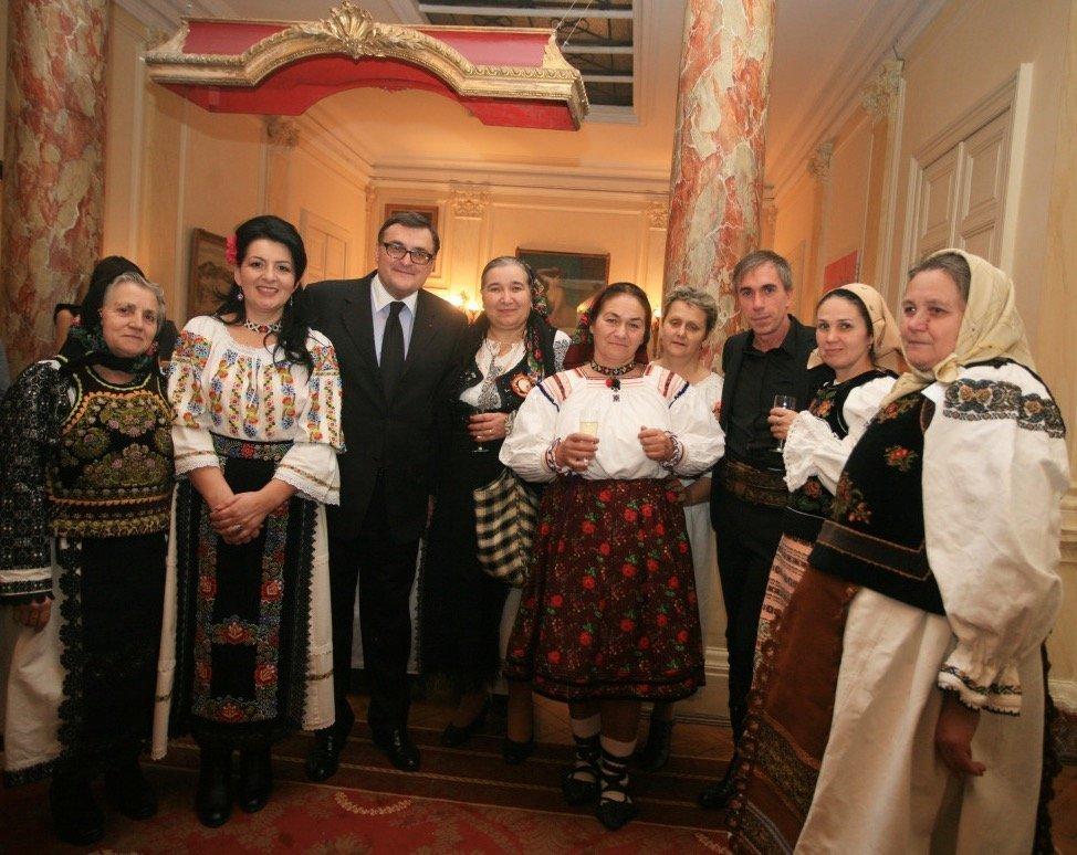 Phillipe Guilet and Romanian artisans