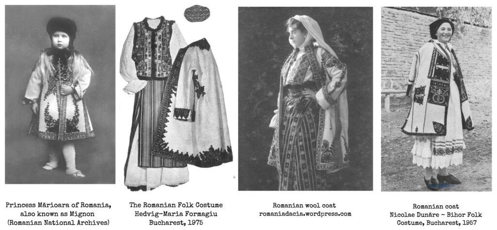 Suman - Romanian folk winter coat