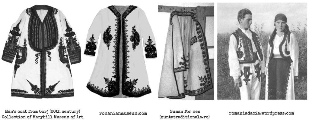 Suman - Romanian folk autumn coat