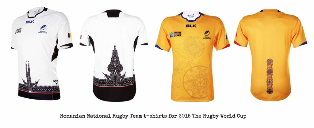 Romanian Rugby National Team 2015 T-Shirts